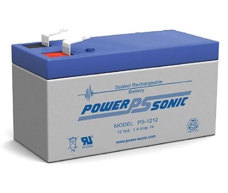 Power-Sonic 12v 1.4Ah Rechargeable SLA Battery PS-1212