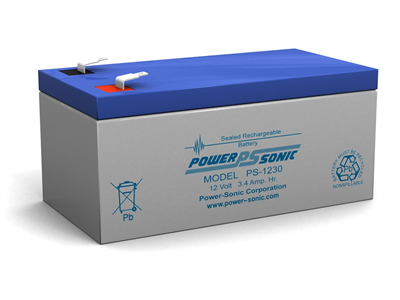 Power Sonic Ps 1230 Rechargeable Sla Battery on automotive starter