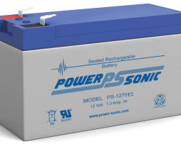 Power-Sonic 12v 7Ah Rechargeable SLA Battery PS-1270