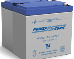PS-1282S Power-Sonic 12v 9Ah Rechargeable SLA Battery