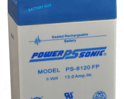 Power-Sonic 6v 13Ah Rechargeable SLA Battery