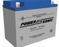Power-Sonic 6v 20Ah Rechargeable SLA Battery