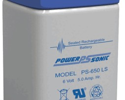 Power-Sonic 6v 5Ah Rechargeable SLA Battery