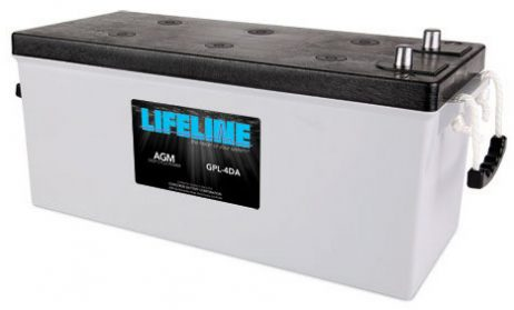 Lifeline GPL-4DA Deep Cycle Marine Battery. Auto Terminal Post