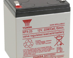 EnerSys 12v 5Ah Rechargeable SLA Battery (NPX-25)