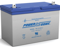 Power-Sonic 12v 100Ah Rechargeable SLA Battery PS-121000