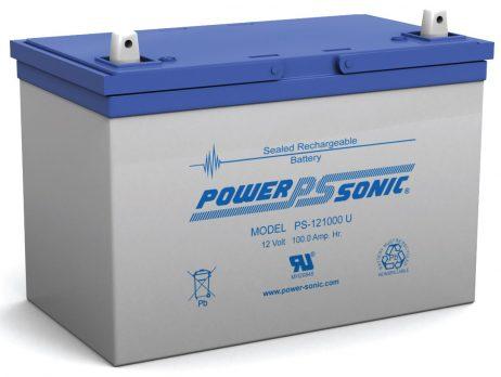 Power-Sonic 12v 100Ah Rechargeable SLA Battery PS-121000