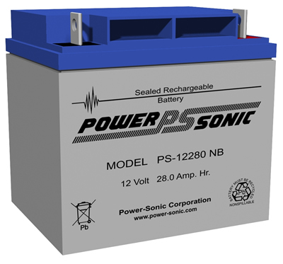 Power-Sonic 12v 28Ah Rechargeable SLA Battery PS-12280