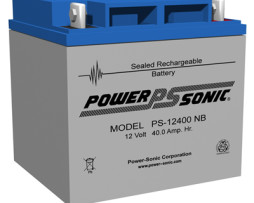 Power-Sonic 12v 40Ah Rechargeable SLA Battery PS-12400