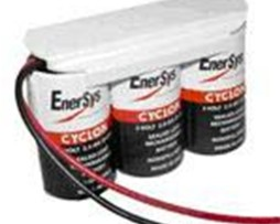 HAWKER enersys 0810-0103, 6V 2.5AH D CELL BATTERY With leads