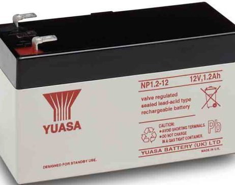 EnerSys 12v 1.2Ah Rechargeable SLA Battery np1.2-12