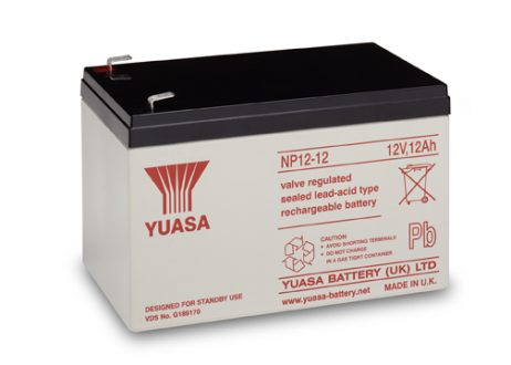 EnerSys 12v 12Ah Rechargeable SLA Battery (NP12-12)