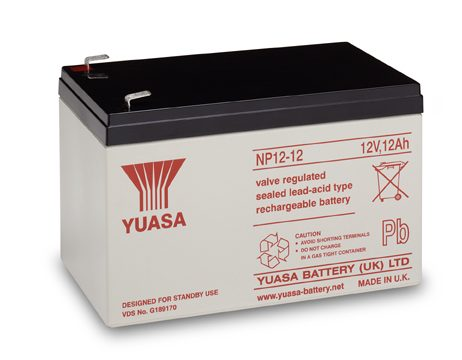 EnerSys 12v 12Ah Rechargeable SLA Battery (NP12-12)