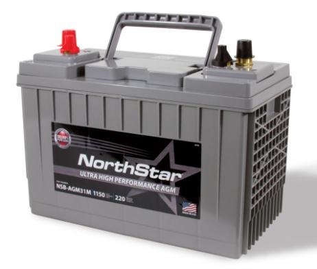 northstar-marine-nsb-agm31m-battery