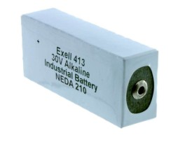 Exell 413 alkaline battery