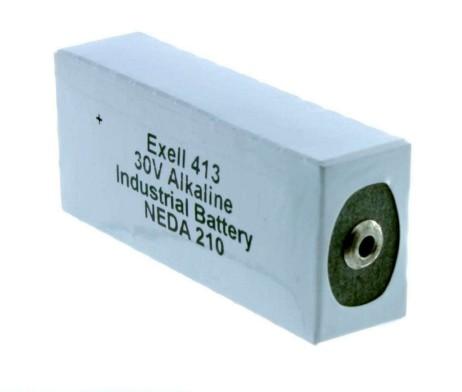 Exell 413 alkaline battery