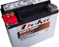 Deka ETX12 12V 10AH AGM Motorcycle BATTERY