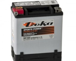 Deka ETX14 12V 14AH AGM Motorcycle Battery