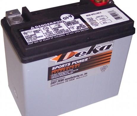 Deka ETX16 12V 16AH AGM Motorcycle Battery