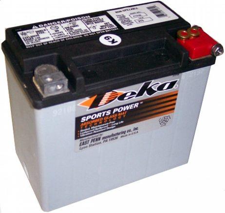 deka etx16l agm battery