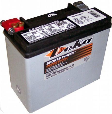 Deka ETX20L 12V 20AH AGM Motorcycle Battery