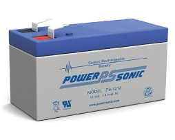 Power-Sonic 12v 1.4Ah Rechargeable SLA Battery PS-1212