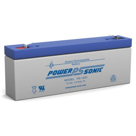 Power-Sonic 12v 2.2Ah Rechargeable SLA Battery PS-1220