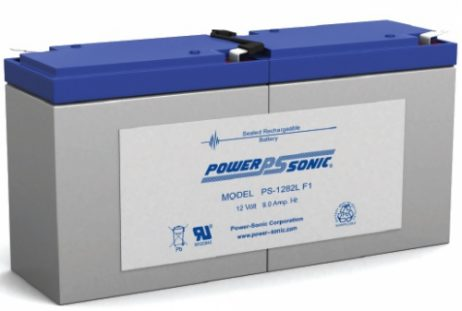 PS-1282L Power-Sonic 12v 9Ah Rechargeable SLA Battery