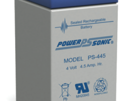 Power-Sonic 4v 4.5Ah Rechargeable Sealed lead acid Battery