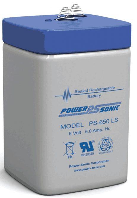 Power-Sonic 6v 5Ah Rechargeable SLA Battery