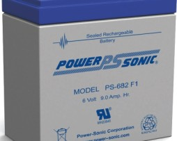 Power-Sonic 6v 8Ah Rechargeable SLA Battery
