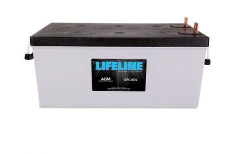LIFELINE GPL-8DL DEEP CYCLE MARINE BATTERY