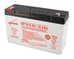 EnerSys NP10-6 Rechargeable sealed lead acid battery