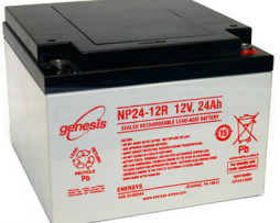 EnerSys 12v 24Ah Rechargeable SLA Battery NP24-12