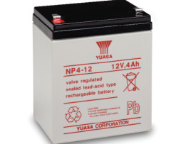 ENERSYS NP4-12 RECHARGEABLE SLA BATTERY