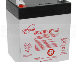 EnerSys 12v 5Ah Rechargeable SLA Battery (NP5-12)