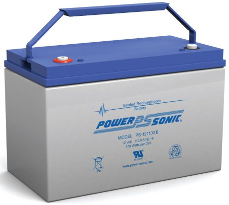 Power-Sonic 12v 110Ah Rechargeable SLA Battery PS-121100
