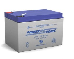 Power-Sonic 12v 12Ah Rechargeable SLA Battery, PS-12120