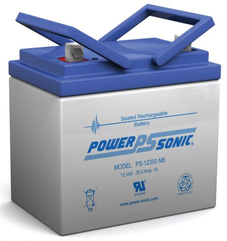 Power-Sonic 12v 35Ah Rechargeable SLA Battery PS-12350