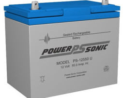 Power-Sonic 12v 55Ah Rechargeable SLA Battery