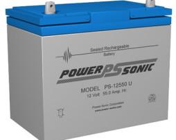 Power-Sonic 12v 55Ah Rechargeable SLA Battery