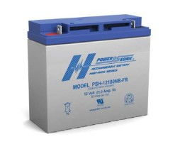 Power-Sonic 12v 21Ah Rechargeable SLA Battery, PSH-12180 FR