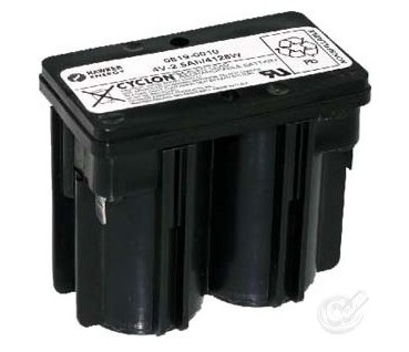 hawker enersys 0819-0010 4V 2.5ah d cell monobloc battery