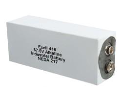 Exell 416 alkaline battery