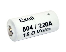 Exell 504 Alklaine Battery