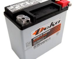 Deka ETX14L 12V 12AH AGM Motorcycle Battery