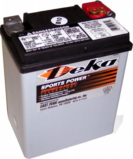 Deka ETX15 12V 14AH AGM Motorcycle Battery