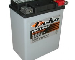 Deka ETX15L 12V 14AH AGM Motorcycle Battery
