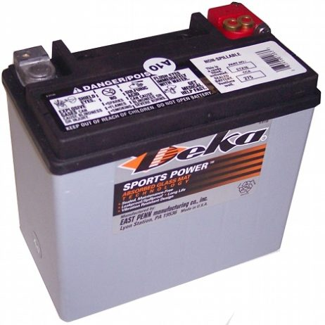 Deka ETX16 12V 16AH AGM Motorcycle Battery