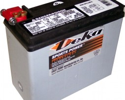Deka ETX20L 12V 20AH AGM Motorcycle Battery